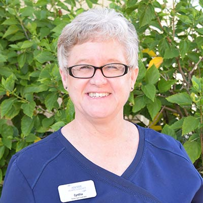 Cindy Shipe, Patient Care Coordinator Aspire Hearing and Balance, Lakeland, FL
